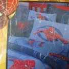 New SPIDERMAN FULL SHEET SET Sheet Spider Web Blue