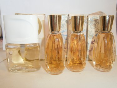 4 NEW AVON SERENADE Cologne Splash Spray Lot Mini 1989 B
