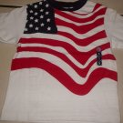 New GYMBOREE SHIRT Tops Small Sz 3 July 4th Flag
