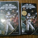 USED STAR WARS II BATTLEFRONT PSP Game Videogame 2005 LucasArts