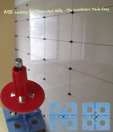 ATR Tile Leveling And Alignment System 2mm Startup Kit