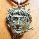 Apollo . Talsisman ,Grecian Amulet , Wiccan pendant Large