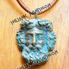 ZEUS Talisman Grecian Amulet  , Pagan Pendant- Medium