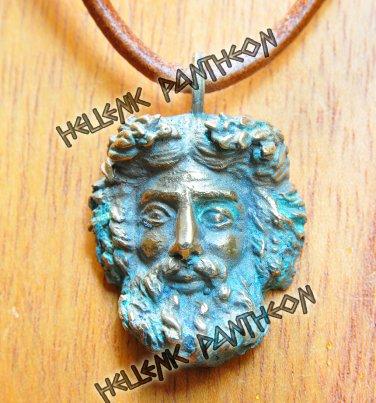 Zeus talisman grecian amulet pagan pendant medium mozeypictures Gallery