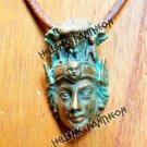 ATHENA GrecianTalisman, Hellenic AMulet , Pagan Pendant Medium