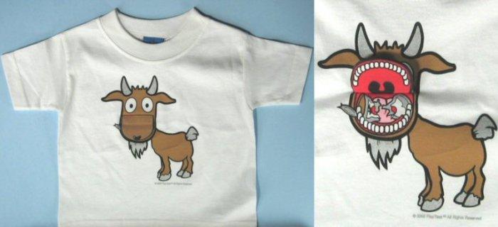 kids flip up T-shirt 0445c