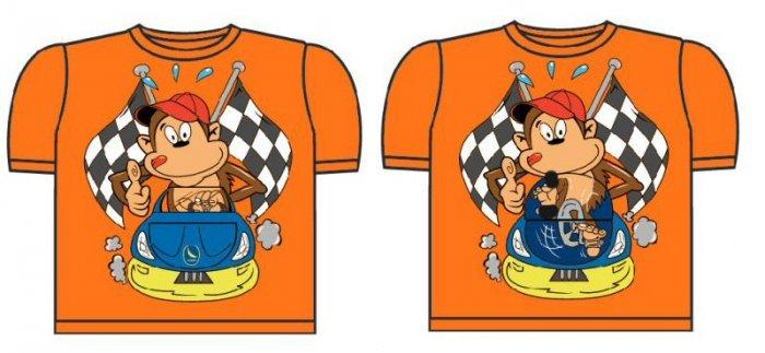 kids flip up T-shirt 0468c