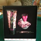 brand new betsy johnson too too pretty perfume gift box set