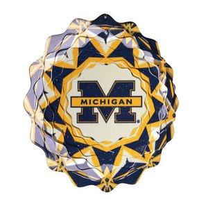 University of Michigan Collegiate Spinner Wind Spinner