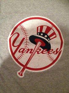 MLB New York Yankees Mens Size X-Large Tshirt