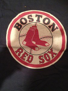 MLB Boston Red Sox  Tshirt Mens Size Large
