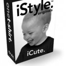 NWT iSTYLE ORIGINAL iCute. apple iPhone Inspired T-Shirt Baby size: 18-24 months