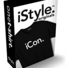 NWT iSTYLE ORIGINAL.  iCon. apple iPhone Inspired T-Shirt MEN SZ: X-Large