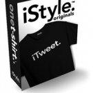 NWT iSTYLE ORIGINAL. iTweet. apple iPhone Inspired TShirt SZ: SMALL