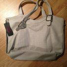 B & G Fashion Designer Handbag  Beige