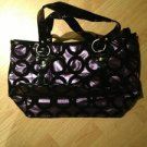 B & G Fashion Designer Handbag  Purple