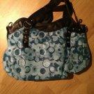 B & G Fashion Designer Handbag  Light Blue