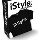 NWT iSTYLE ORIGINAL iTalk. uListen.apple iPhone Inspired TShirt Womens sz: Med.