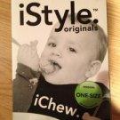 iChew. iStyle Originals Black. Baby BIB one-size