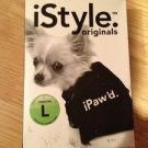 iPaw'd. dog shirt black size Large 21-35 Lbs.