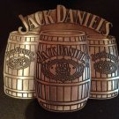 Metal JACK DANIEL'S Old No. 7 Whiskey Belt Buckle