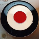 TARGET BULLSEYE BELT BUCKLE RED WHITE AND BLUE COOL!