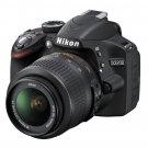 Nikon D3200 24.2 MP CMOS Digital SLR with 18-55mm f/3.5-5.6 AF-S DX VR NIKKOR Zo