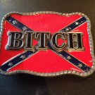 REBEL Bitch SOUTHERN CONFEDERATE FLAGS BELT BUCKLE BUCKLES