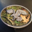 New Camouflage Eagle Belt Buckle