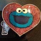 New Sesame Street Cockie Monster Heart Belt Buckle