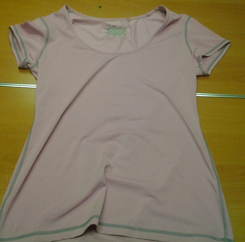 Ladies UFC pink short sleeve top feels like Under Armour womens Medium