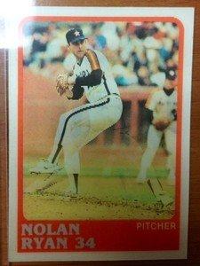 NOLAN RYAN Astros Rangers 1988 Sportflics card 3D