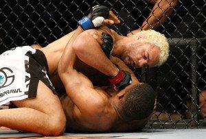 UFC MMA JOSH KOSCHECK GNPs Paul Daley 8x10 photo
