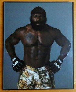 KIMBO SLICE framed 8x10 photo from his UFC days MMA