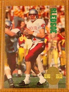 DREW BLEDSOE Washington State Patriots 1993 Classic Four Sport rookie card