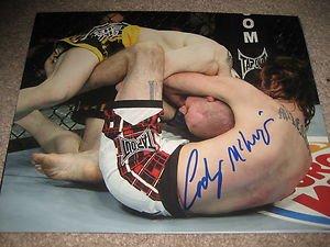 UFC MMA CODY MCKENZIE autographed signed 8x10 photo
