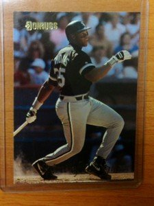 FRANK THOMAS Chicago White Sox 1993 Donruss Spirit of the Game card