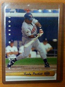 KIRBY PUCKETT Minnesota Twins 1993 Upper Deck Home Run Heroes card