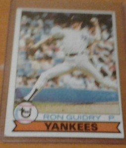 RON GUIDRY Yankees 1979 Topps card