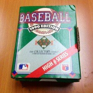 1990 Upper Deck Baseball High # Series factory set