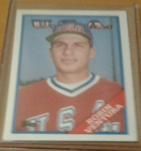 ROBIN VENTURA Team USA White Sox 1988 Topps Traded rookie card
