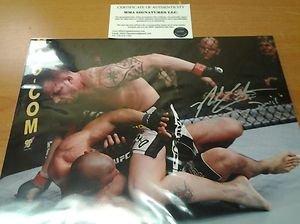 "UFC MMA NICK CATONE ""Jersey Devil"" autographed signed 8x10 photo w/COA"