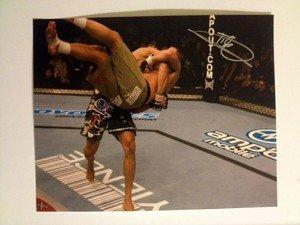UFC MMA BEAST GLEISON TIBAU autographed signed 8x10 photo