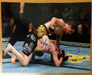 UFC MMA TUF 6 Winner MAC DANZIG autographed signed 8x10 photo