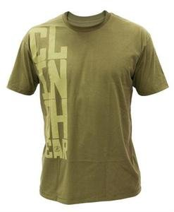 CLINCH GEAR Stacked military green tee shirt mens XL UFC MMA Dan Hendo Henderson