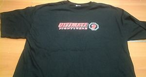 BACK IN THE DAY MMA ULTIMATE FIGHT GEAR black tee shirt mens XL UFC