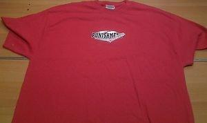 OLD SCHOOL PUNISHMENT red tee shirt mens XL UFC MMA Tito Ortiz