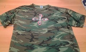 BACK IN THE DAY MMA COBB 28 camo tee shirt mens XL UFC WEC