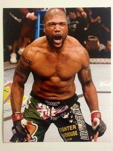 "UFC MMA QUINTON ""RAMPAGE"" JACKSON 8x10 photo"
