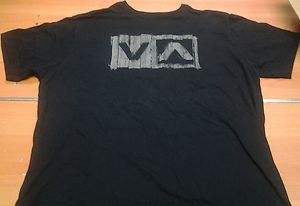 RVCA black tee shirt mens XL